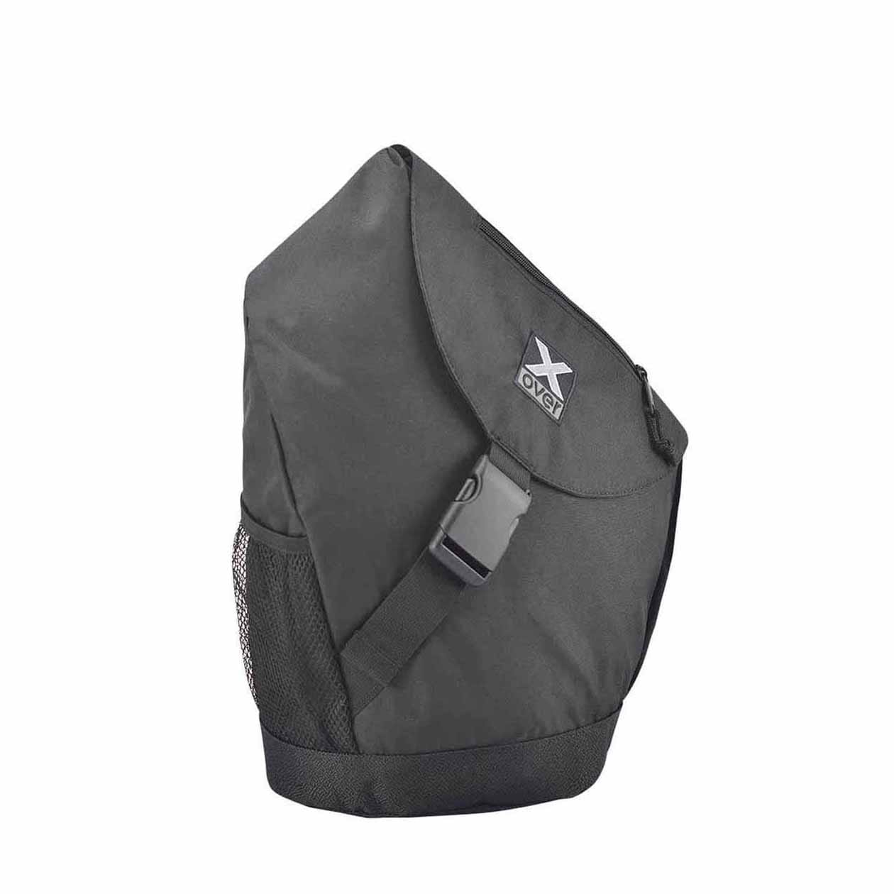 x-over schuine rugzak original amsterdam black medium
