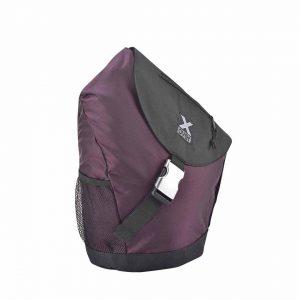 X-Over schuine rugzak original barcelona black purple