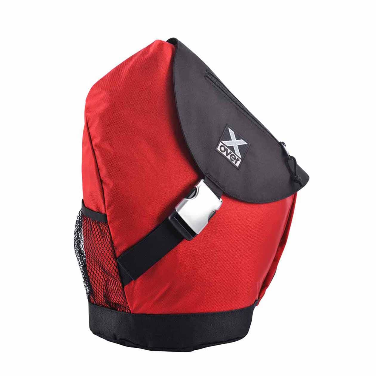 X-Over schuine rugzak barcelona Red Large