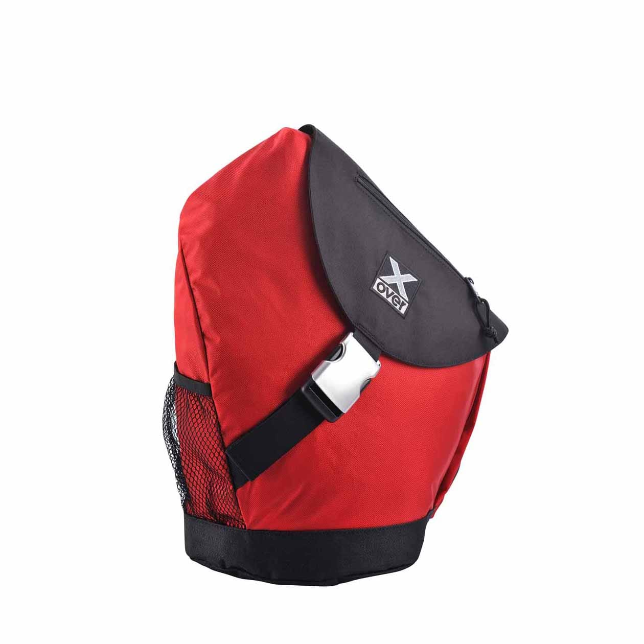 X-Over schuine rugzak Barcelona red Medium