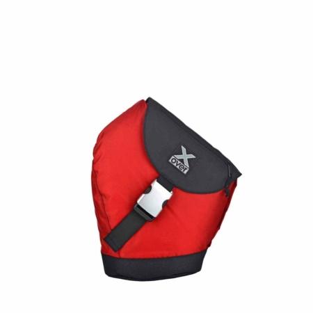 X-Over Schuine rugzak barcelona red Small