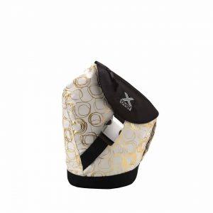 x-over schuine rugzak original en vogue golden whiteness small