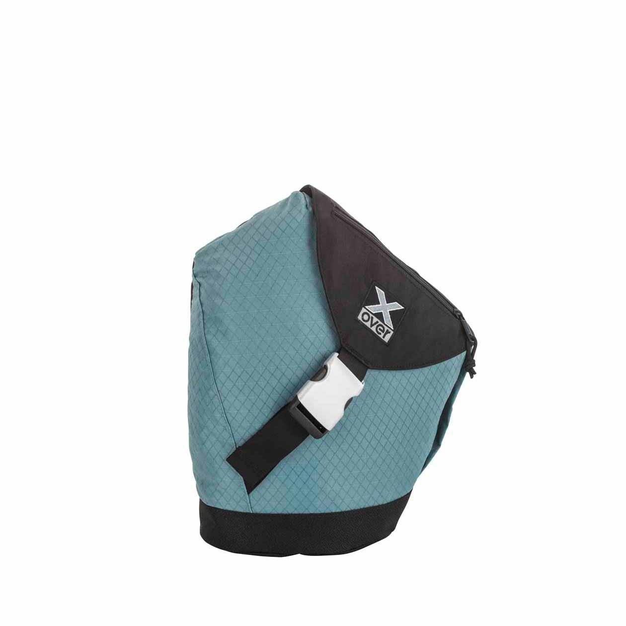 x-over schuine rugzak original frankfurt dove blue small