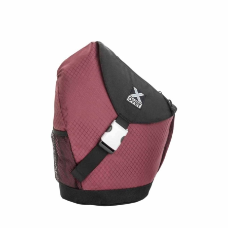 x-over schuine rugzak original frankfurt red rubin medium