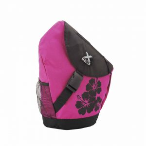 X-Over schuine rugzak original hawaiian spirit dahlien pink medium