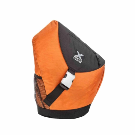 x-over schuine rugzak original jamaica orange medium