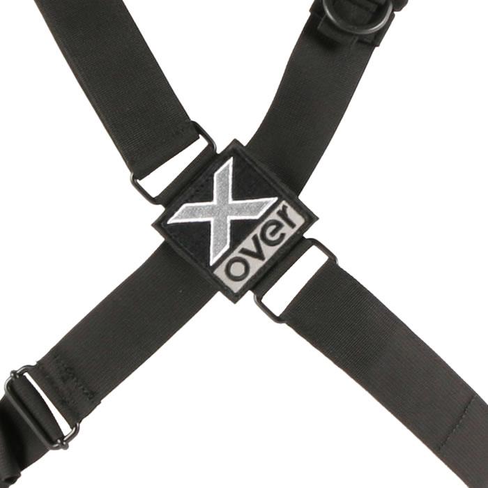 X-over schuine rugzak vierpuntsysteem