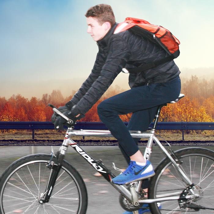 x-over schuine rugzak sportsline bike voorbeeld foto
