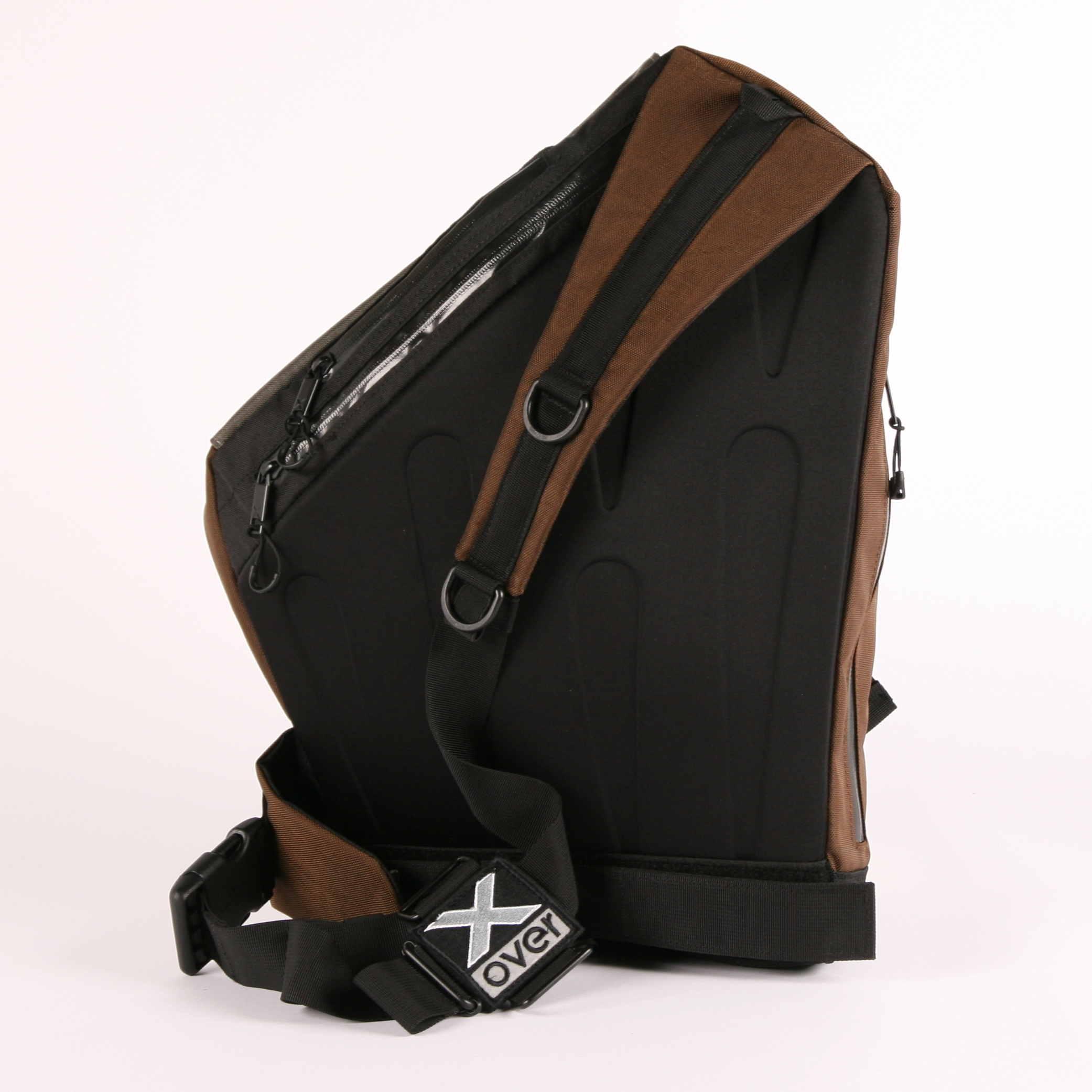 X-Over schuine rugzak wintersports achterkant