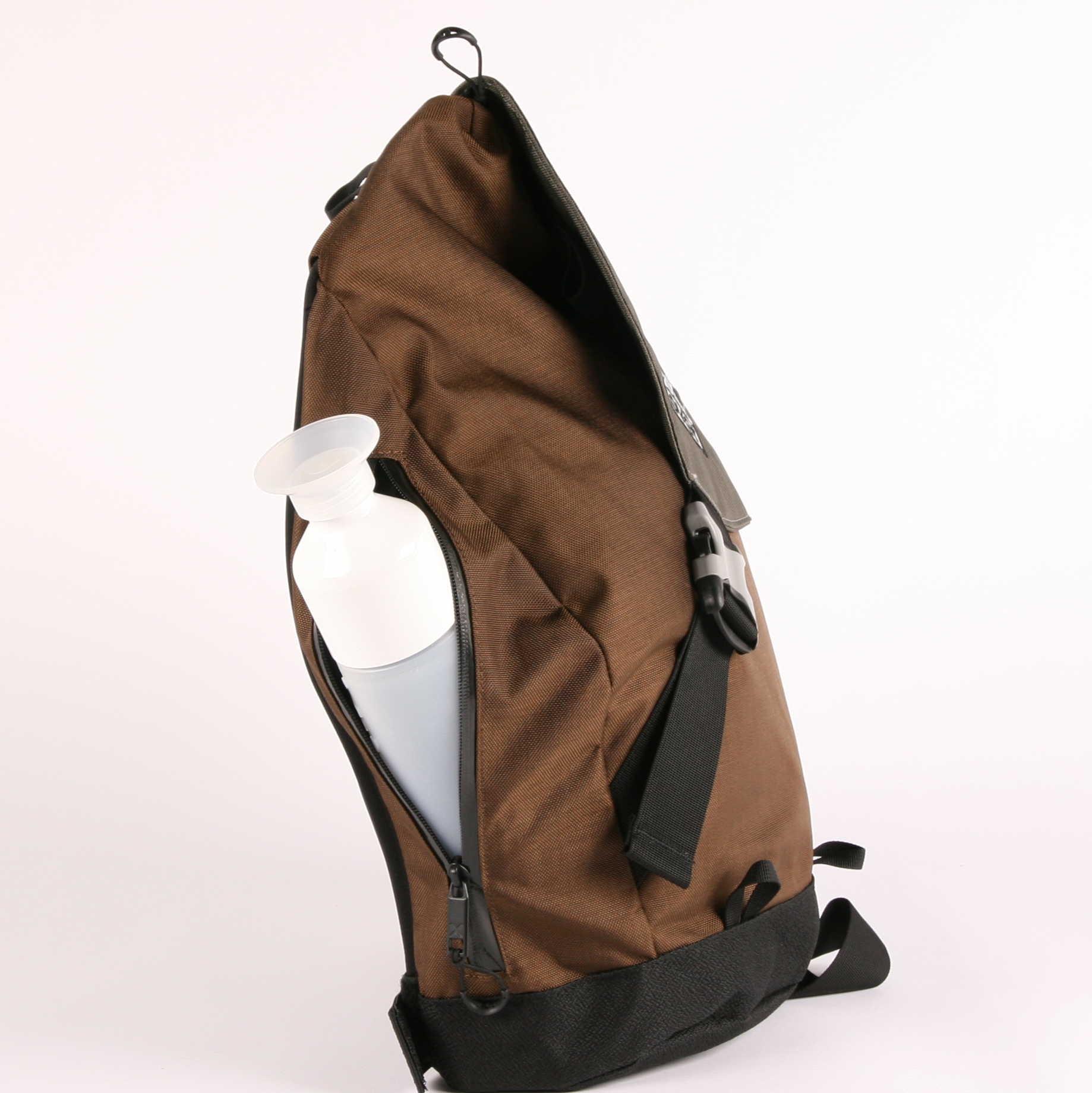 X-Over schuine rugzak wintersports zijvak met rits